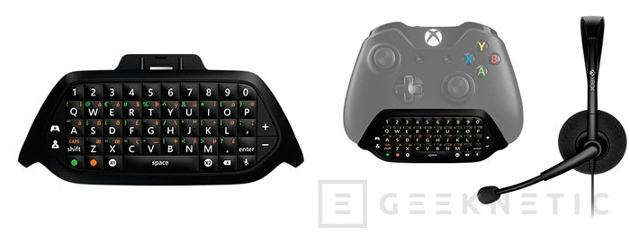 Microsoft lanza el Xbox Chatpad, un teclado para el mando de la Xbox One, Imagen 1