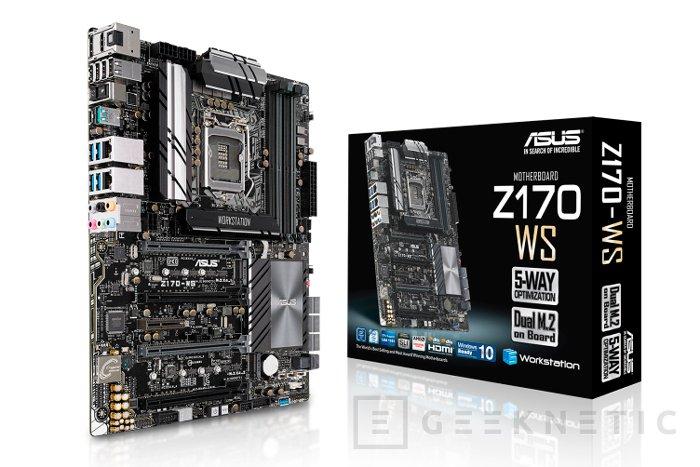 La ASUS Z170-WS llega a España, Imagen 1