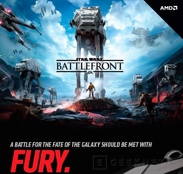 AMD regalará el Star Wars: Battlerfont con las Radeon R9 Fury, Imagen 1