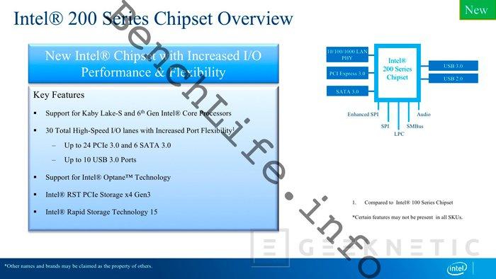 La séptima generación de procesadores Intel Core Kaby Lake mantendrá los 14 nánometros, Imagen 1