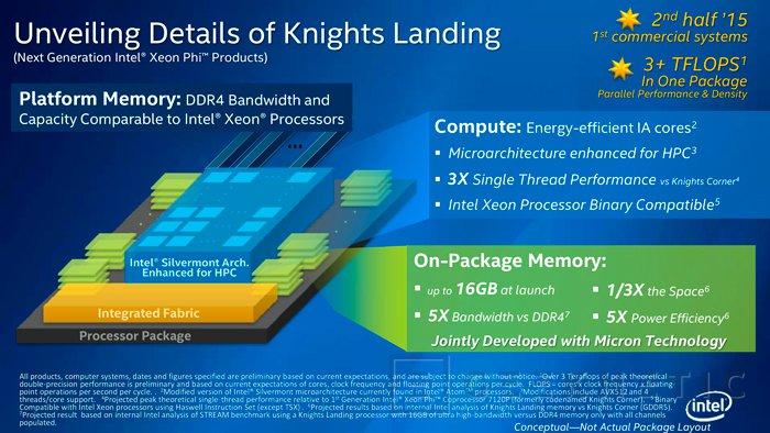 Los nuevos Intel Xeon Phi llegarán al mercado dentro de workstations en 2016, Imagen 1