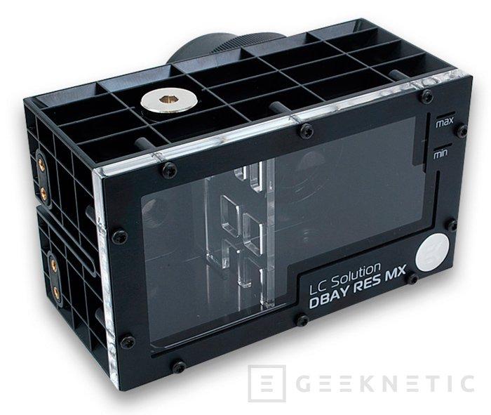 EK anuncia el nuevo depósito para bombas de refrigeración líquida DBAY D5 MX, Imagen 1