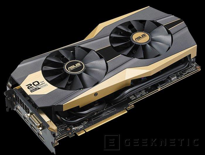 ASUS lanza GTX 980 Ti Gold Edition por su 20º aniversario, Imagen 1