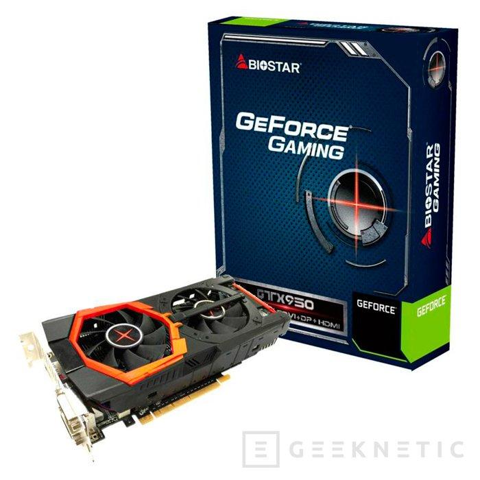 Biostar lanza su propia GTX 950 Gaming con dos ventiladores, Imagen 1