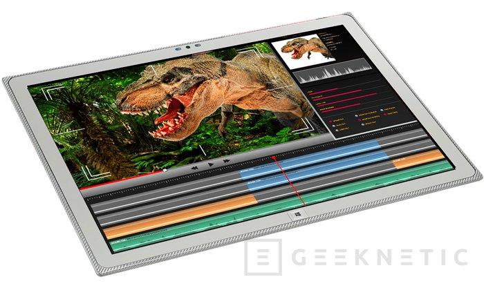 ThoughPad FZ-Y1D, el enorme tablet de 20 pulgadas de Panasonic se pone al día, Imagen 1