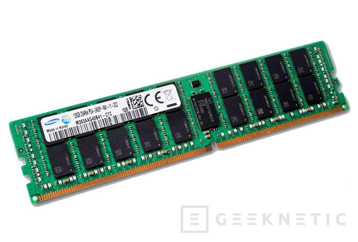 Samsung ya fabrica módulos de memoria DDR4 de 128 GB, Imagen 1