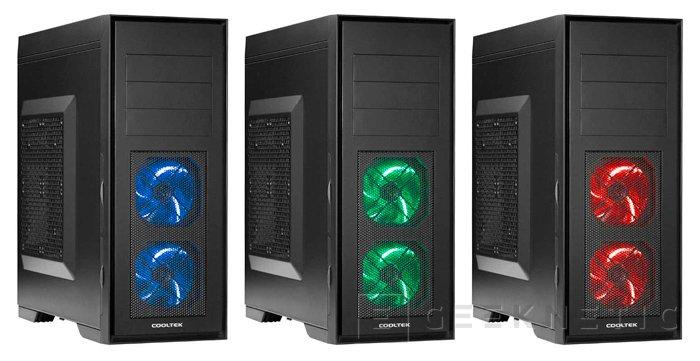 Skall es la nueva semitorre ATX de Cooltek, Imagen 1