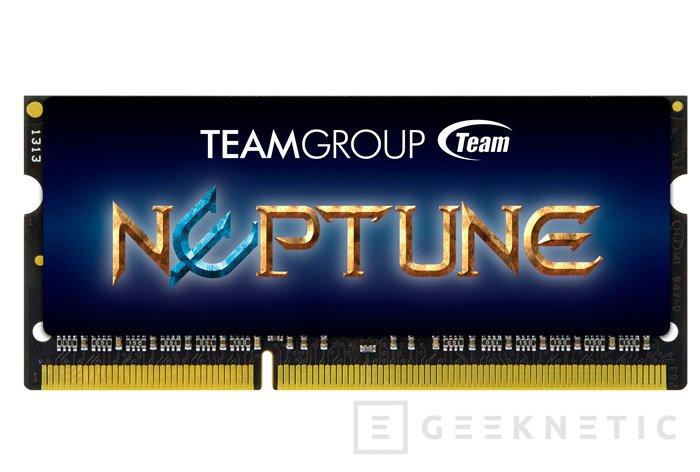 Team Group Neptine, nuevas memorias DDR3 para portátiles, Imagen 1