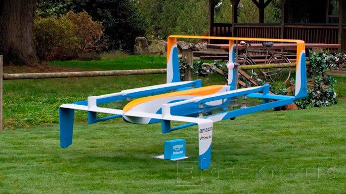 Amazon Prime Air, así son los nuevos drones repartidores de la compañía, Imagen 2