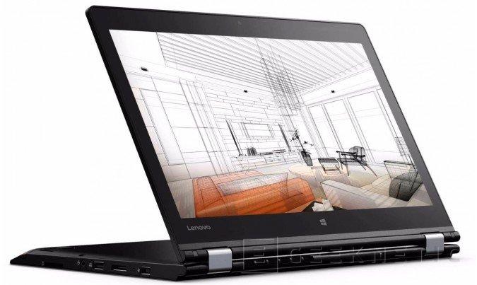 Lenovo ThinkPad P40 Yoga, nuevo convertible para profesionales, Imagen 1