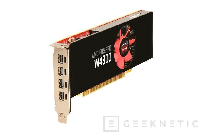 AMD anuncia la FirePro W4300 para su gama de gráficas profesionales, Imagen 1