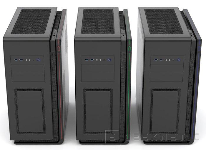Enthoo Mini XL Dual System, una torre para integrar dos ordenadores, Imagen 2