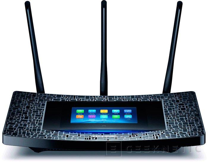 Nuevo Router TP-LINK Touch P5 con pantalla táctil, Imagen 1
