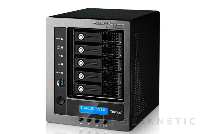 Thecus lanza el nuevo NAS W5810 con Windows Storage Server 2012 R2, Imagen 1