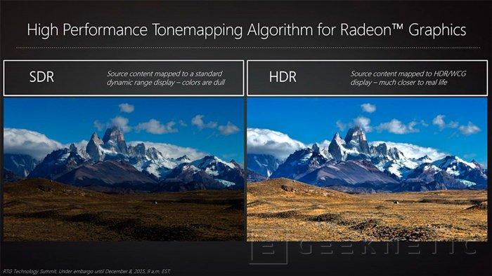 AMD añadirá soporte para FreeSync vía HDMI y HDR a sus próximas tarjetas gráficas, Imagen 3