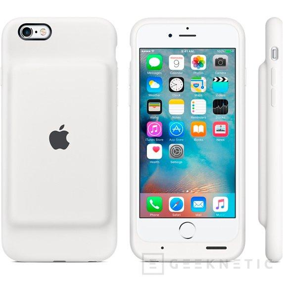 Apple Smart Battery Case, funda con batería para el iPhone 6 por 119 Euros, Imagen 1