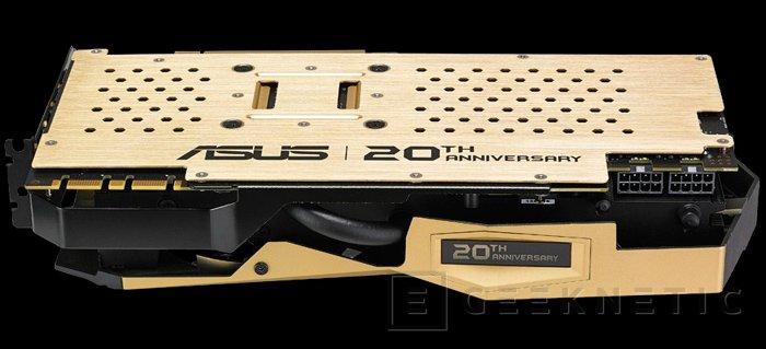 La exclusiva ASUS 20th Anniversary Gold Edition GTX 980 Ti llega a España, Imagen 2