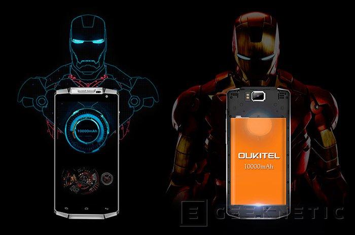 Oukitel K10000, el smartpone con la batería de mayor capacidad del mercado, Imagen 2