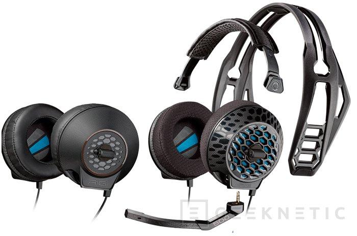Plantronics introduce 5 nuevos auriculares de la gama RIG 500, Imagen 1
