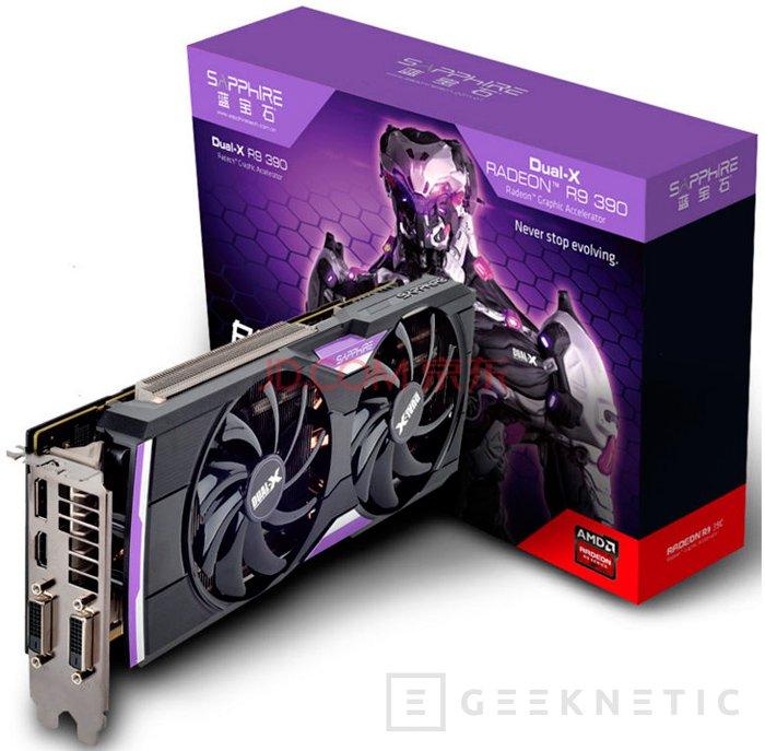 Llegan las AMD Radeon R9 390 de 4 GB, Imagen 2