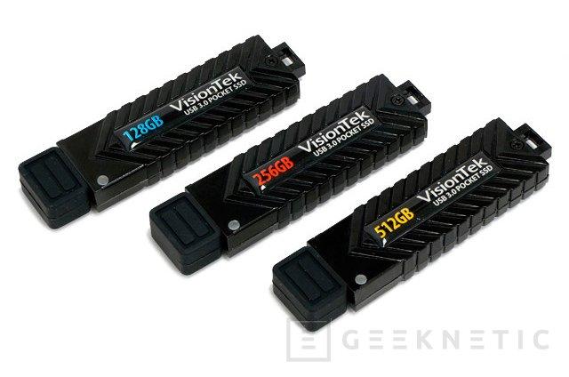 Visiontek lanza nuevos pendrives USB 3.0 de alto rendimiento, Imagen 1