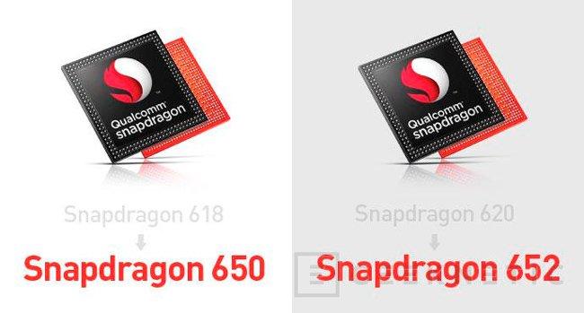 Los procesadores Snapdragon 650 y 652 son los Snapdragon 618 y 620 renombrados, Imagen 1