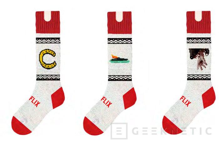 Netflix Socks, calcetines que detectan cuando te duermes y pausan la reproducción de lo que estés viendo, Imagen 1