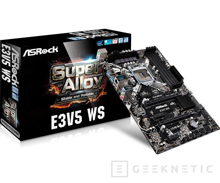 El chipset Intel C232 para Xeon también llega a las nuevas placas de ASRock, Imagen 1