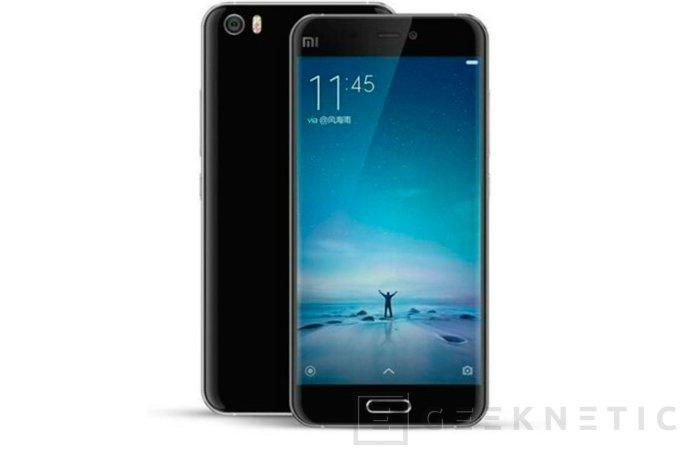 Se deja ver el diseño del nuevo Xiaomi Mi 5, Imagen 1