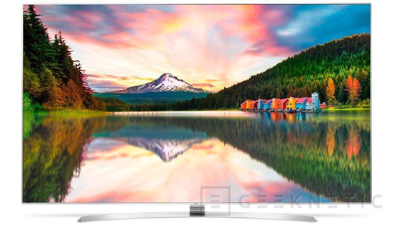 LG UH9800, nueva televisión con resolución 8K, Imagen 1