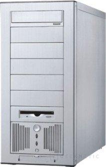 Dos cajas de aluminio y un barebone de Lian-Li, Imagen 1