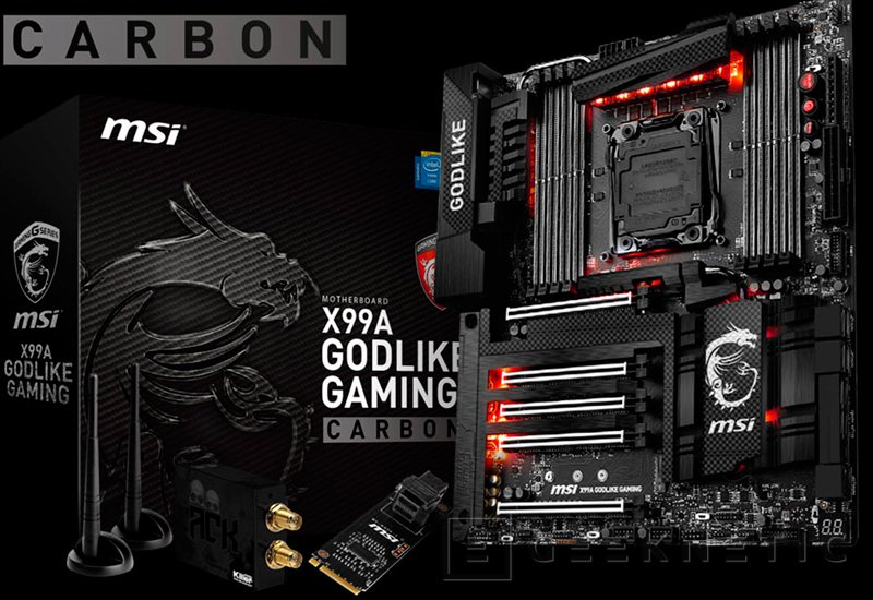 MSI X99A Godlike Gaming Carbon y Z170A Gaming Pro Carbon, Imagen 1
