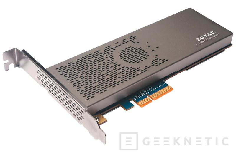 ZOTAC incluirá un SSD PCIe de alto rendimiento en su catálogo, Imagen 1