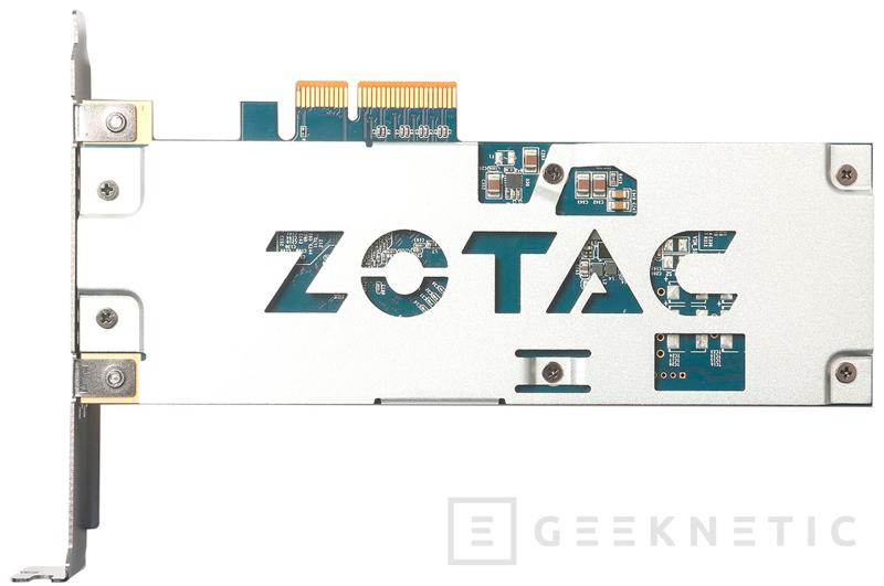 ZOTAC incluirá un SSD PCIe de alto rendimiento en su catálogo, Imagen 2