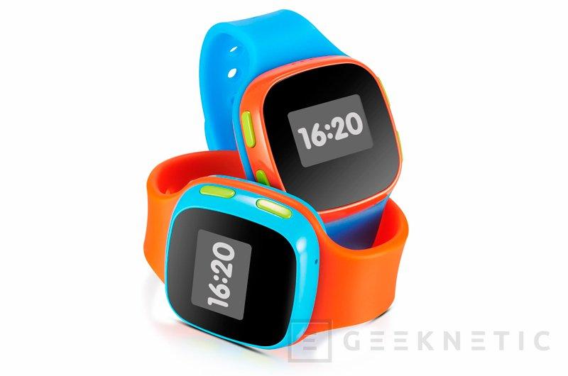 Alcatel OneTouch CareTime: un reloj con conectividad GSM para los más pequeños, Imagen 1