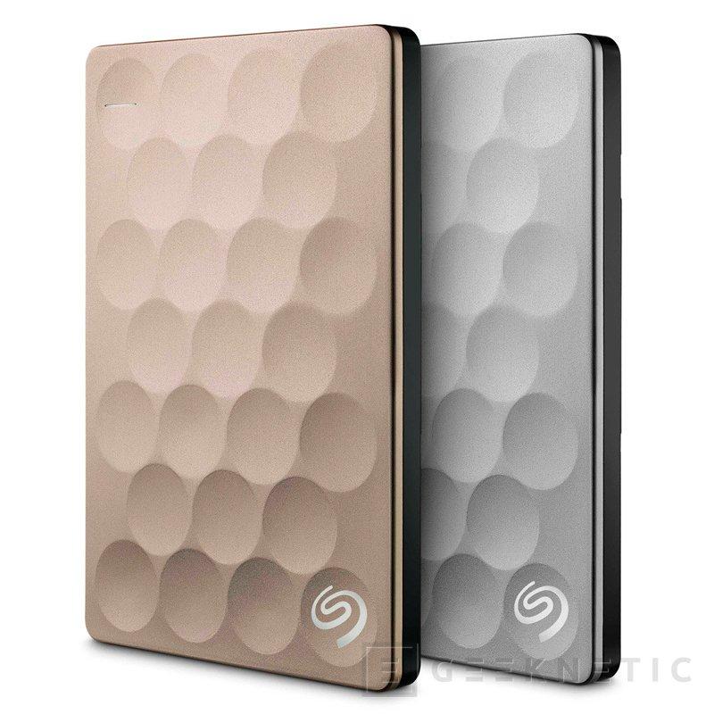 Seagate Backup Plus Ultra Slim, el disco duro externo de 2 TB más fino del mundo, Imagen 1