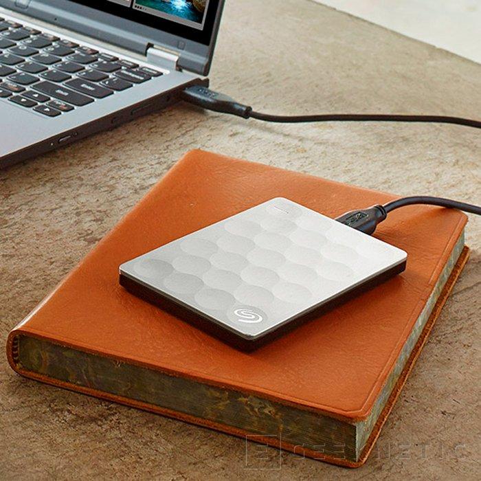 Seagate Backup Plus Ultra Slim, el disco duro externo de 2 TB más fino del mundo, Imagen 2