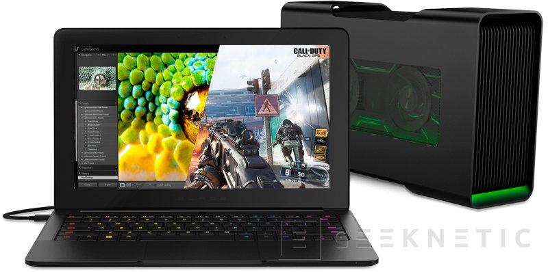 El Ultrabook Razer Blade Stealth llega con una tarjeta gráfica externa con conectividad Thunderbolt 3, Imagen 1