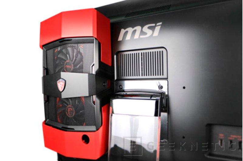 MSI Gaming 27XT, un todo en uno con gráfica externa, Imagen 2