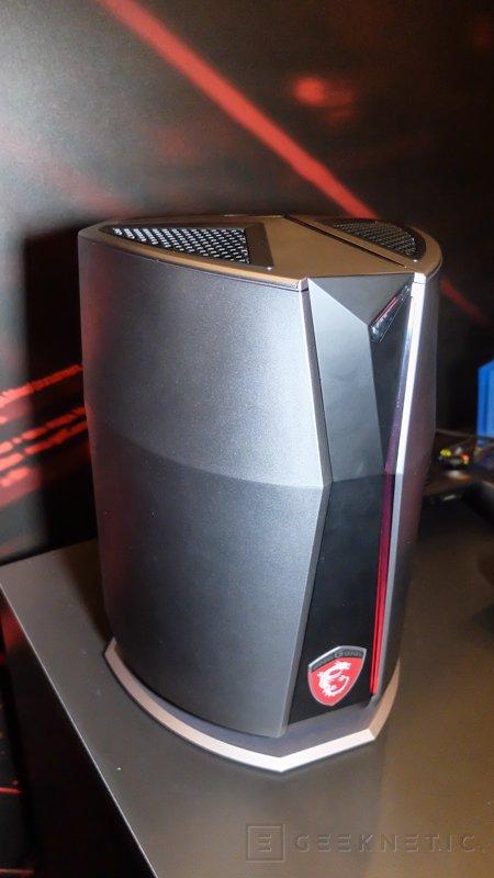 Espectacular diseño para el nuevo MSI Vortex, Imagen 2