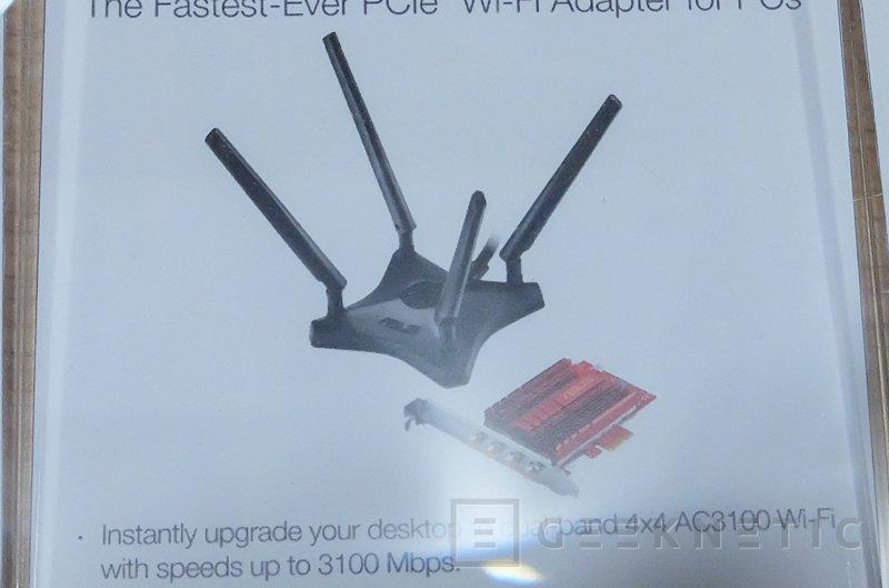 ASUS PCE-AC88, tarjeta de red WiFI PCie con 3.100 Mbps, Imagen 2