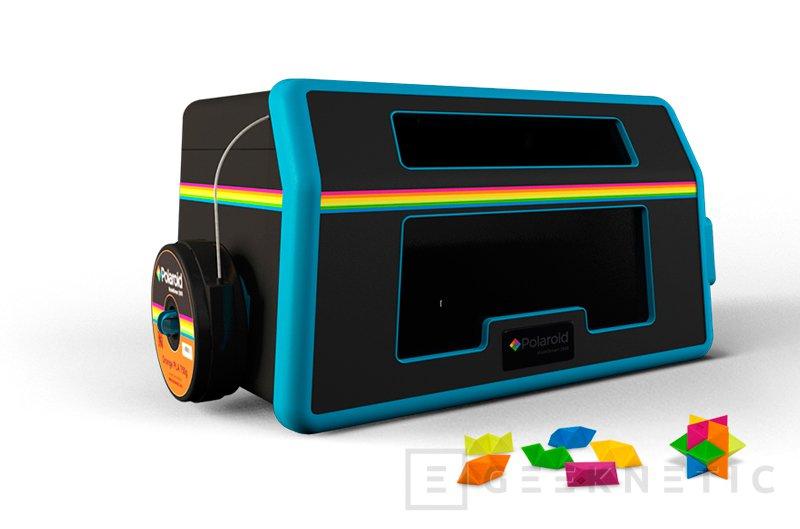 Polaroid entra en el mundo de la impresión 3D con su propia impresora, Imagen 1