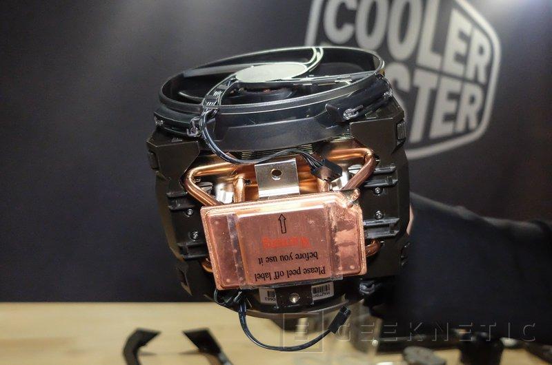 Nuevo disipador de gama alta Cooler Master MasterAir Maker 8 con cámara de vapor 3D, Imagen 2