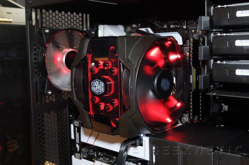 Cooler Master anuncia la versión final de su disipador Master Air Maker 8, Imagen 1