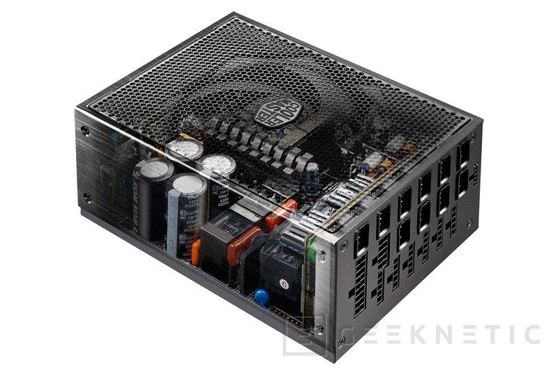 Cooler Master MasterWatt Maker 1200, fuente digital 80 PLUS TITANIUM, Imagen 2