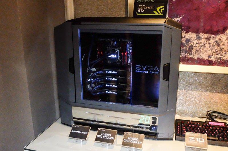 EVGA prepara una espectacular torre gaming, Imagen 1