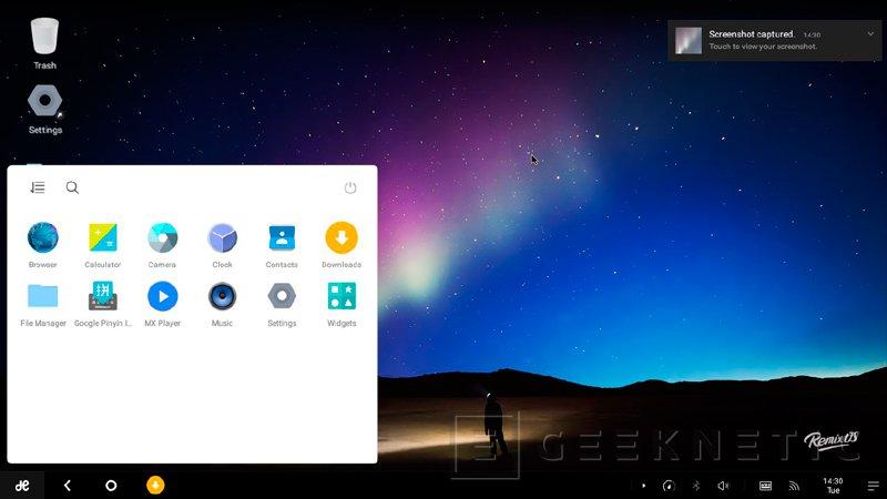 Remix OS, la versión de Android adaptada para PC, ya está disponible de manera pública, Imagen 2
