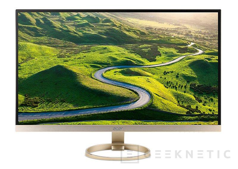 Acer actualiza su gama de monitores con propuestas gaming, USB-C y de marco fino, Imagen 1
