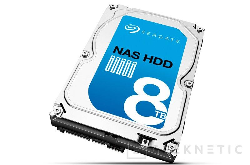 Seagate lanza un nuevo disco duro de 8 TB para NAS, Imagen 1