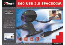 Trust lanza la 360 USB 2.0 SpaceC@m, Imagen 1